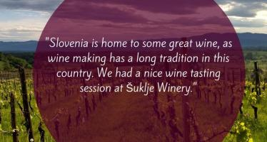 Slovenia is home to Great Wine