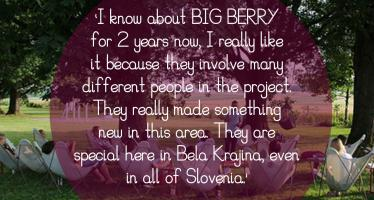 BIGBERRY Quotes BBmastermind Tomaz Aupic Slovenia