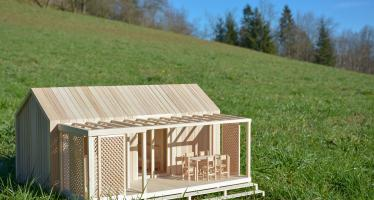 BB Mini House set in Slovenian Landscape