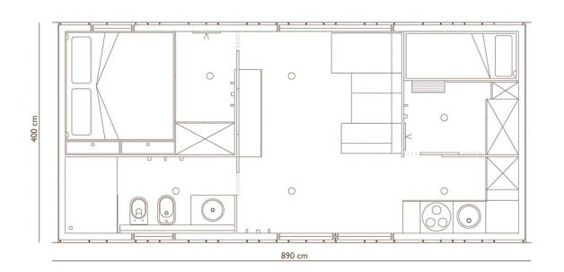Hosekra Big berry brown berry Floor plan 4 pers